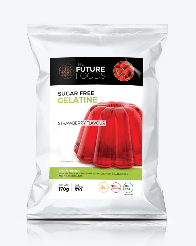 Sugar Free Gelatine - Strawberry