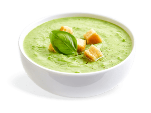 Quick and easy to prepare vegetable soup from The Future Foods